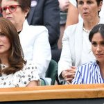 Meghan and Kate at Wimbledon Image GETTY