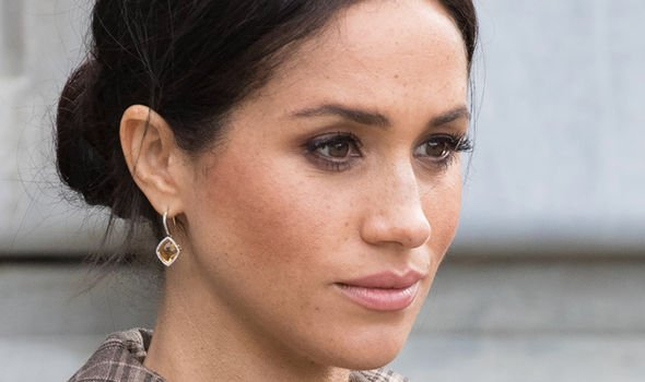 Meghan and her father have reportedly not spoken since the Royal Wedding in May Image GETTY