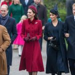 Meghan attended church with the royals on Christmas Day Image GETTY