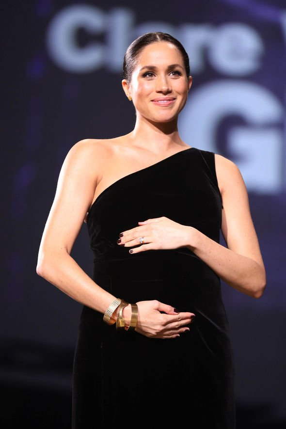 Meghan made a surprise appearance at the British Fashion Awards Image GETTY