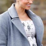 Meghan is known for wearing symbolic jewellery Image GETTY