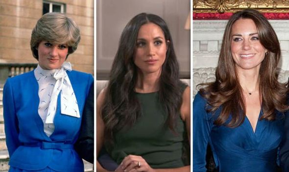 Meghans engagement interview was very different to Kate and Dianas a royal author claimed Image GETTY SKY