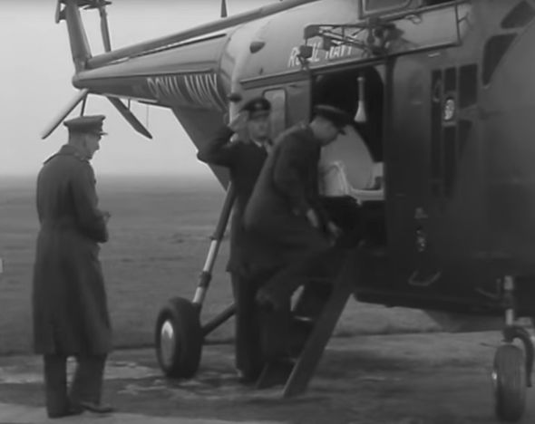 The incident happened just five years after Queen Elizabeth was crowned Image British Pathe