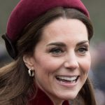 On Wednesday morning the Duchess stunned in festive red as she headed to church Image GETTY