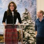 Opening up During a speech at the party Kate recalled being left at home when William was serving as an RAF search and rescue helicopter pilot as she sympathised with families