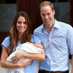 Presenting their first child Prince George to the world on 22 July 2013 Kate and Prince William could not contain their happiness Photo C GETTY