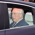 Prince Charles arrived at the Queens party alone Photo C GETTY