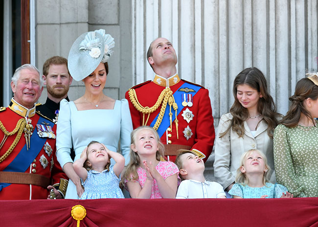 Prince Charles is a doting grandfather to his cheeky grandchildren Photo C GETTY