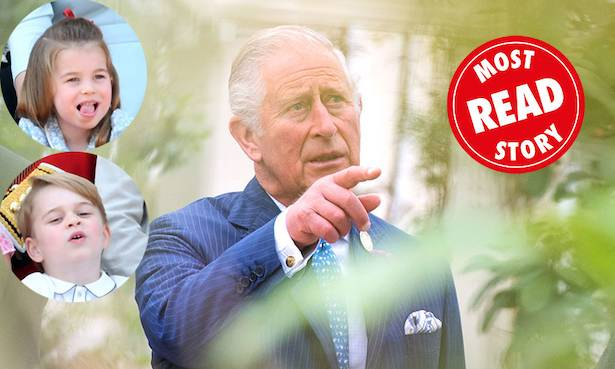Prince Charles reveals what his naughty grandchildren get up to at Highgrove Photo C GETTY