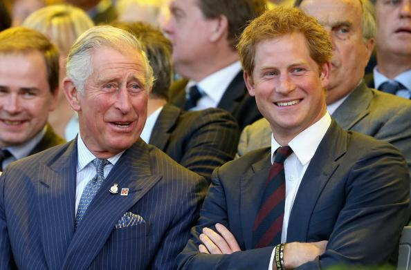 Prince Charles was reportedly shocked and went mental after learning that his son Prince Harry smoked weed Photo C GETTY