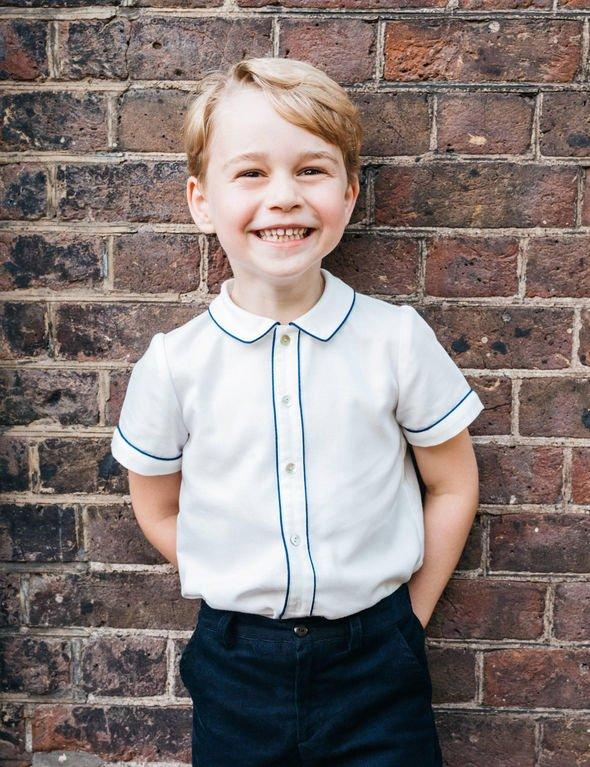 Prince George Image Matt Porteous PA Wire