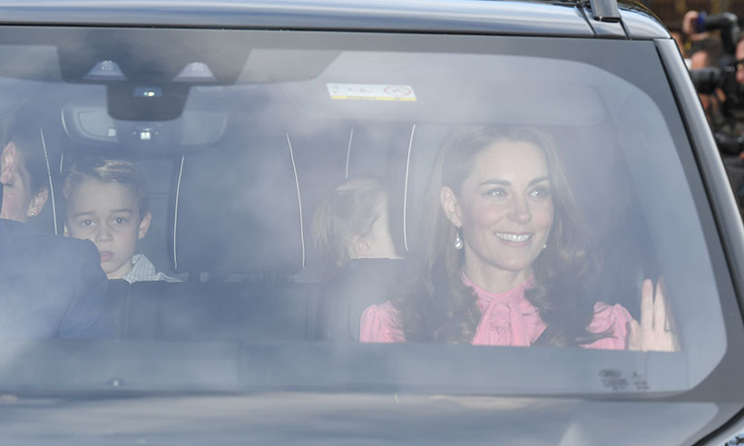 Prince George and Catherine Duchess of Cambridge Photo C GETTY