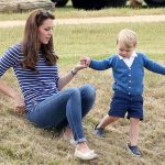 Prince George and Kate Middleton Image GETTY