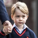 Prince George attended Thomas's Battersea for the first time in September 2017 Image GETTY