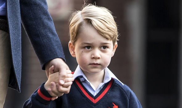 They are very keen to allow George to spread his wings as a child Image GETTY