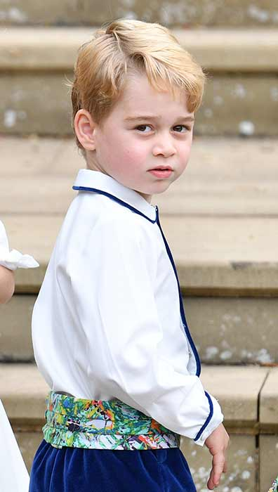Prince George takes ballet lessons at his school Photo C GETTY
