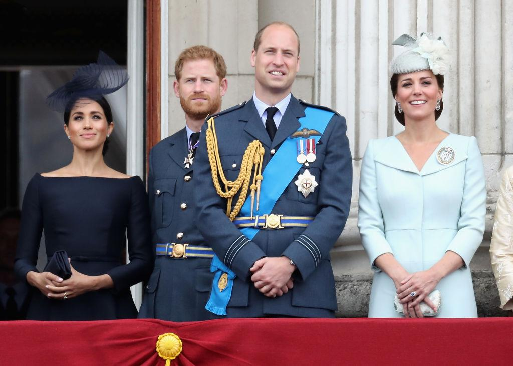 Prince Harry reportedly gave Prince William a special gift Pictured Meghan Duchess of Sussex Prince Harry Photo C GETTY