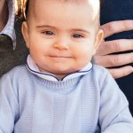 Prince Louis left is now almost eight months old and bears a strong resemblance to his mother Kate as a baby right in 1982