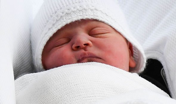 Prince Louis was born on 23 April 2018 Image GETTY
