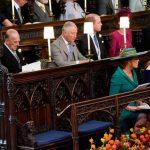 Prince Philip and Sarah Ferguson at Princess Eugenies wedding Image GETTY