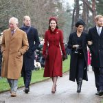 Prince William 36 and Harry 34 joined their wives and the rest of the Royal Family