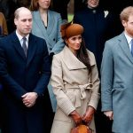 Prince William and Kate will join Prince Harry and Meghan at Christmas Photo C GETTY