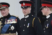 Prince William and Prince Philip Image Getty