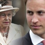 Prince William and the Queen Image GETTY