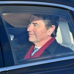 Princess Annes husband Timothy Laurence was in the same car as his wife Photo C PA