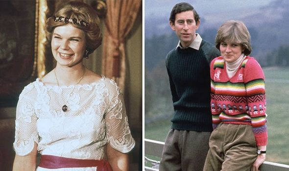 Princess Astrid of Luxembourg Prince Charles and Princess Diana Image Getty