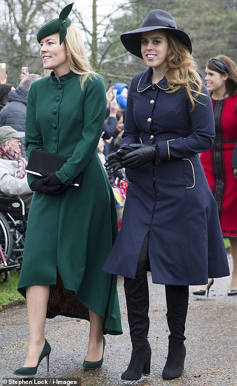 Princess Beatrice and Autumn Phillips