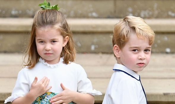 Princess Charlotte and Prince George Image Pool Max Mumby Getty Images