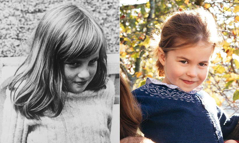 Princess Charlotte bears striking resemblance to a young Princess Diana Photo C GETTY IMAGES 01