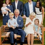 Princess Charlotte was most recently seen smiling in this photo to celebrate Prince Charless 70th Image GETTY