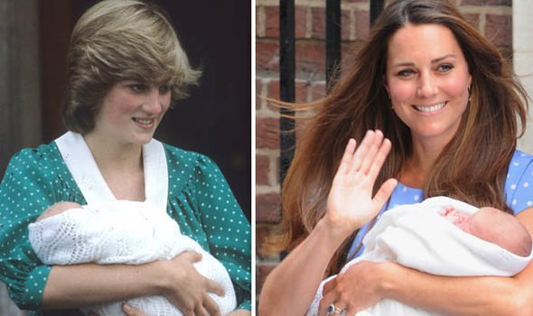 Princess Diana may be inspiring Kates fashion choices Image GETTY