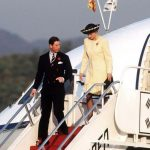 Princess Diana and Prince Charles arrived in Seoul for their visit to South Korea in 1992 Image GETTY