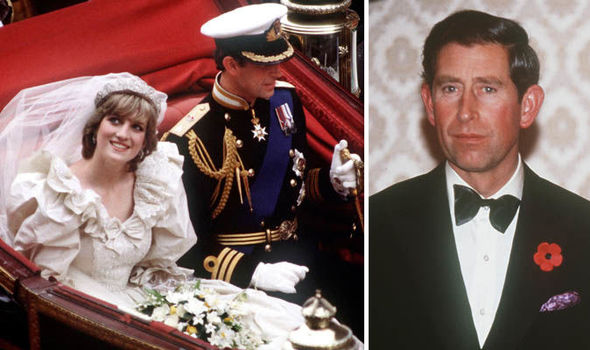 Princess Diana and Prince Charles got married in 1981 Image GETTY