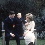 Princess Diana and Prince Charles with Prince William Image GETTY