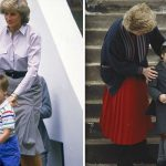 Princess Diana and Prince William Image Getty