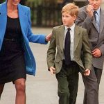 Princess Diana with Harry and William Image Getty