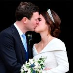 Princess Eugenie married Jack Brooksbank in October Image GETTY