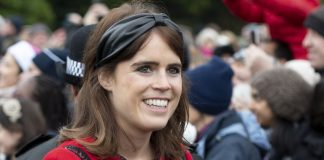 Princess Eugenie shared a sweet photo on her Instagram account showing how she is spending Christmas day as a newlywed Photo C GETTY IMAGES UK PRESS POOL