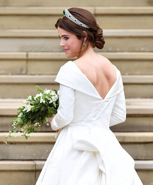 Princess Eugenie undertook surgery to correct her scoliosis when she was 12 years old Image Getty