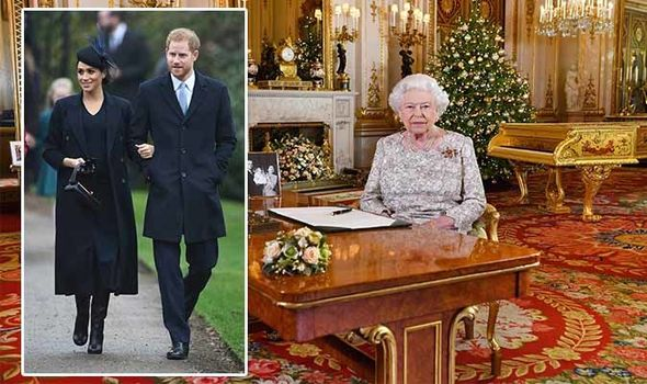 Queen Elizabeth II Christmas speech reveals what she REALLY thinks of Harry and Meghan Image PA