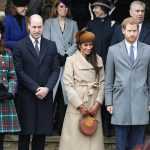 Queen at Sandringham Last year the fab four spent Christmas at Sandringham Image Getty