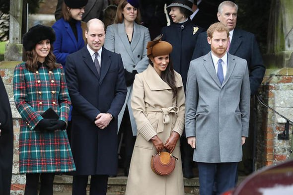 Queen at Sandringham Kate William Harry and Meghan will be spending Christmas at Sandringham Image Getty