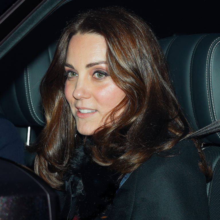 Regular Person Kate Middleton Spotted Driving Herself to Buckingham Palace Photo C GETTY