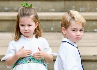 Royal BABIES Kate and William could think Charlotte and George are old enough to attend the church Image Getty