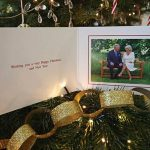 Royal CHRISTMAS Future King and Queen consort Charles and Camillas card Image PA