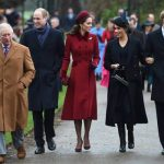 Royal Christmas PICTURES The royals arriving for the annual church service at Sandringham Image GETTY